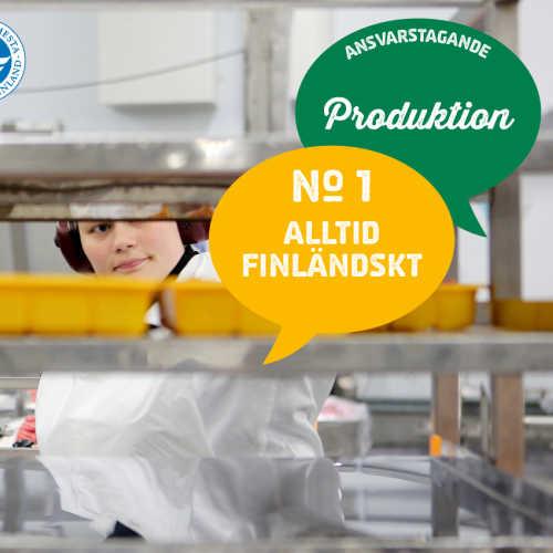 1) Alltid finländskt