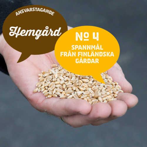 4) Spannmål från finländska gårdar