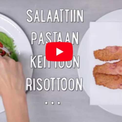 <span>#</span>kananiksi: Näin teet rapeaa pekonia mikrossa