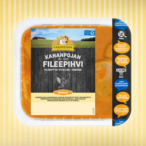 Kariniemen Kananpojan Fileepihvi hunaja