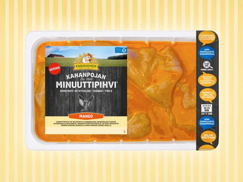 Kariniemen Kananpojan Minuuttipihvi® mango