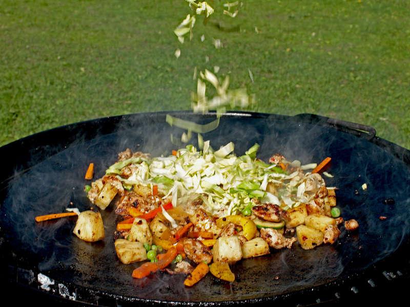 Kesäruokaa Mongolian malliin