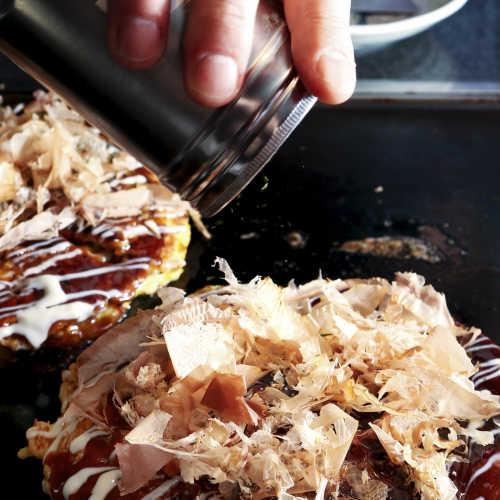 Chicken Okonomiyaki – pyttäri japanilaisittain