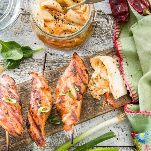 Kanavartaat ja korealainen pika-kimchi