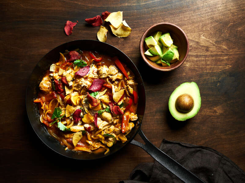 Meksikolainen kanaburrito