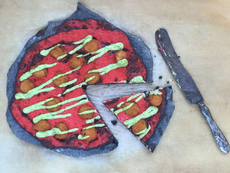 Splatter-pizza