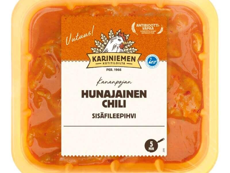 Kariniemen Kananpojan sisäfileepihvi hunajainen Chili