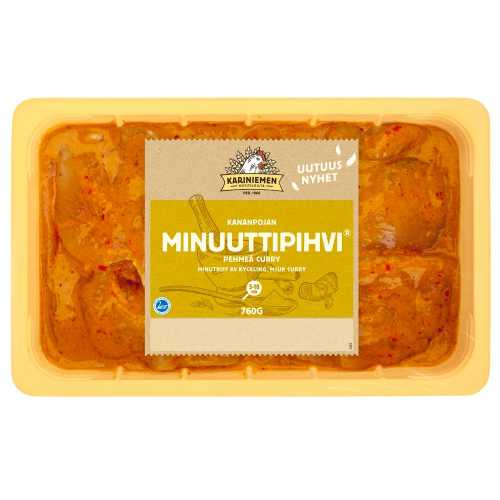 Kariniemen Kananpojan Minuuttipihvi® pehmeä curry 760g