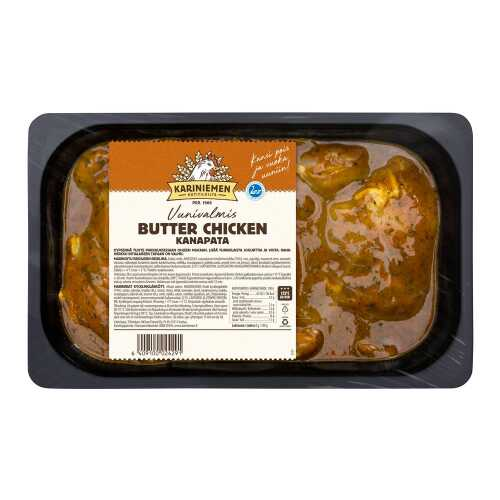 Kariniemen Kananpojan Butter chicken 700g