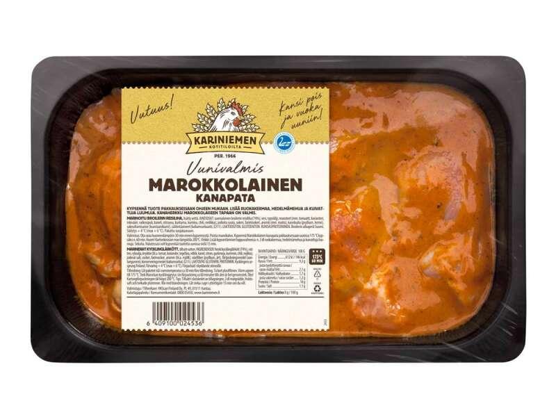 Kariniemen Kananpojan Marokkolainen kanapata