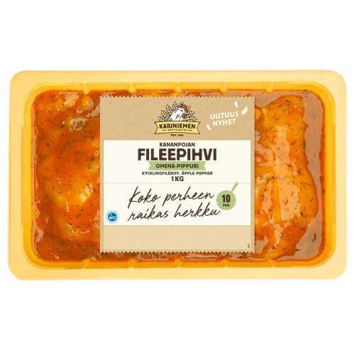Kariniemen Kananpojan Fileepihvi Omena-Pippuri 1kg