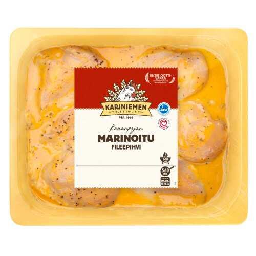 Kariniemen Kananpojan fileepihvi marinoitu n.1,2kg