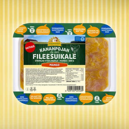 Kariniemen Kananpojan Fileesuikale mango