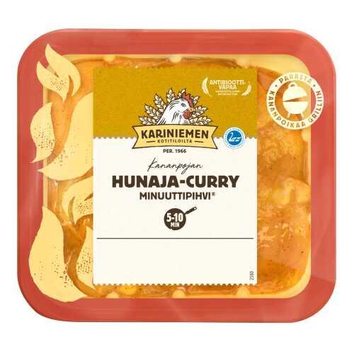 Kariniemen Kananpojan Minuuttipihvi hunaja-curry 370g