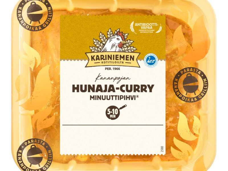 Kariniemen Kananpojan Minuuttipihvi hunaja-curry