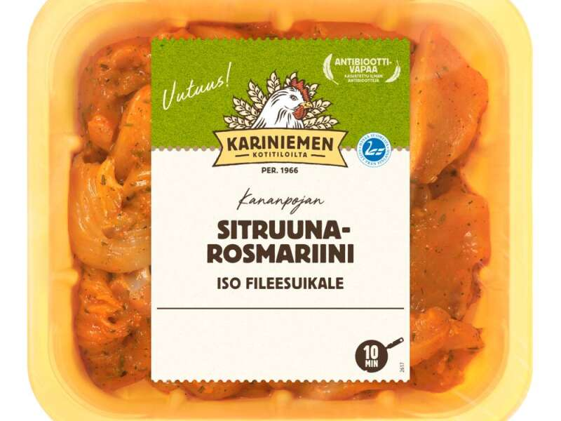 Kariniemen Kananpojan Iso fileesuikale sitruuna-rosmariini