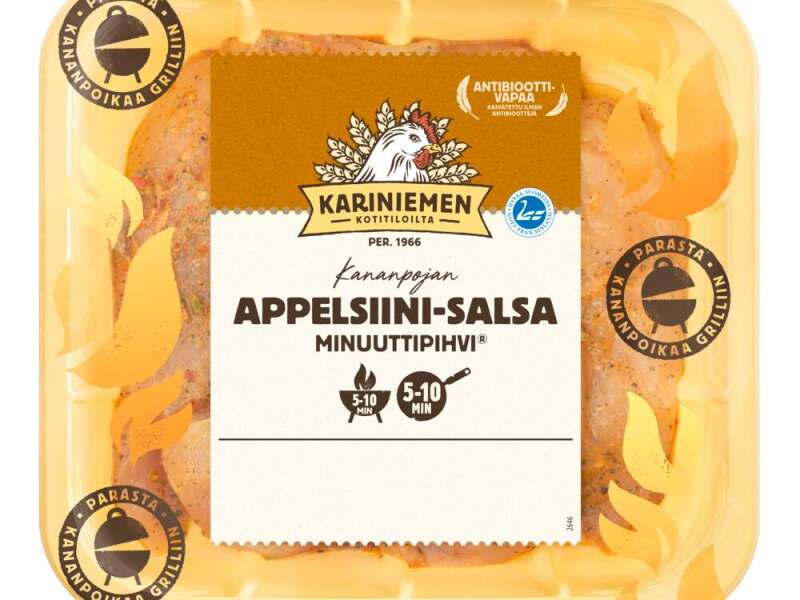 Kariniemen Kananpojan Minuuttipihvi® Appelsiini-salsa