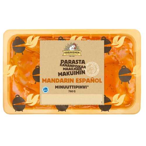 Kariniemen Kananpojan Minuuttipihvi® Mandarin Español  760g