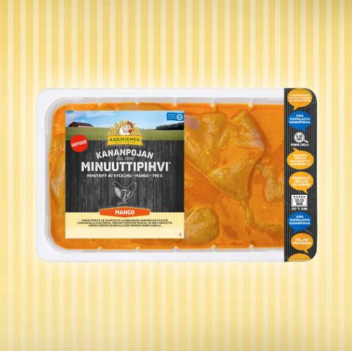Kariniemen Kananpojan Minuuttipihvi<sup>®</sup> mango