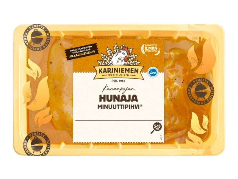 Kariniemen Kananpojan Minuuttipihvi® hunaja