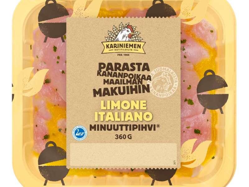 Kariniemen Kananpojan Minuuttipihvi Limone Italiano