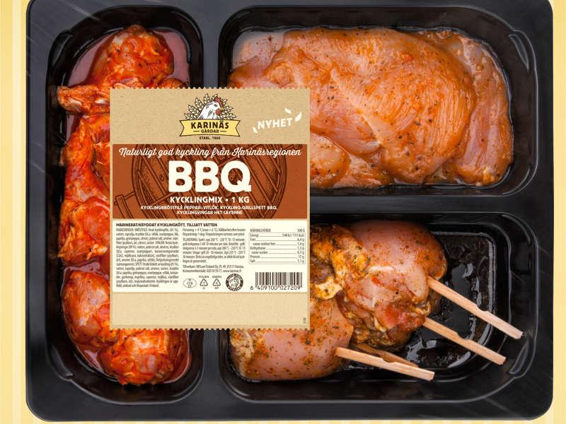 BBQ Kycklingmix