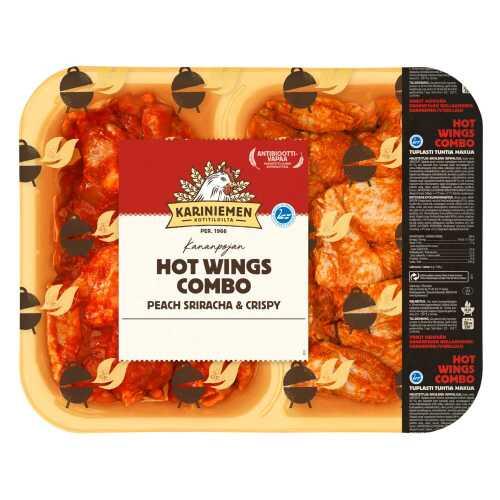 Kariniemen Kananpojan Combo Wings Peach Sriracha & Crispy n.1,5kg