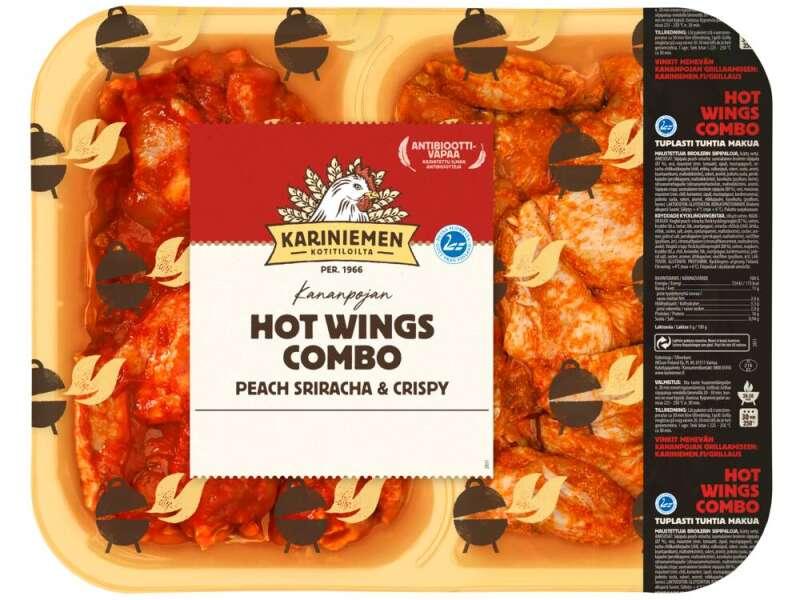 Kariniemen Kananpojan Combo Wings Peach Sriracha & Crispy