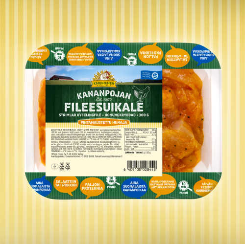 Kariniemen Kananpojan Fileesuikale hunaja