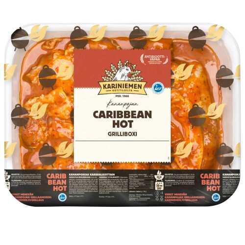 Kariniemen Kananpojan Grilliboxi Caribbean Hot  n.1,7kg