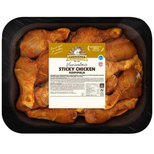 Kariniemen Kananpojan Uunivalmis Koipipala Sticky Chicken n1,5kg