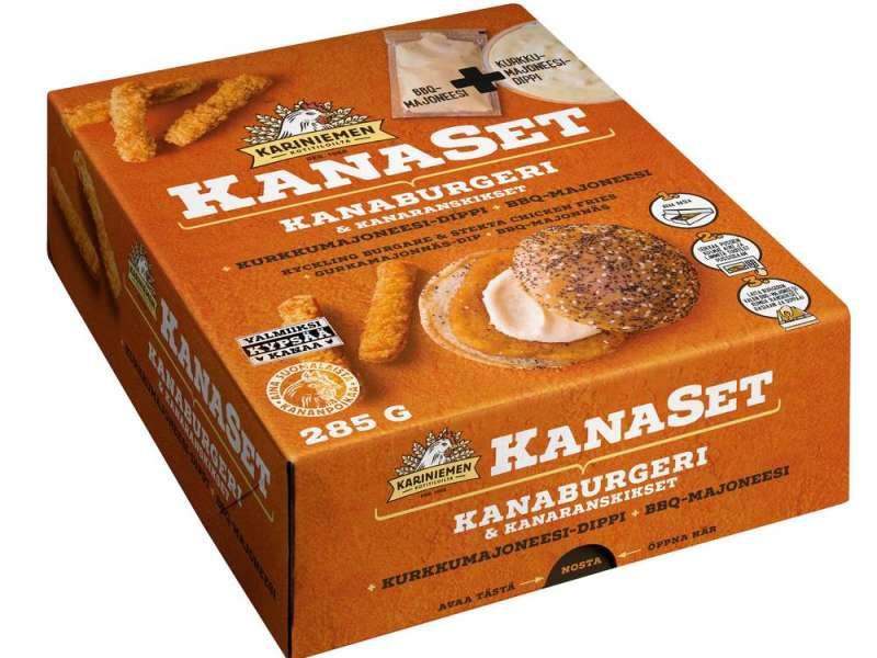 Kariniemen KanaSet®  Kanaburgeri & kanaranskikset