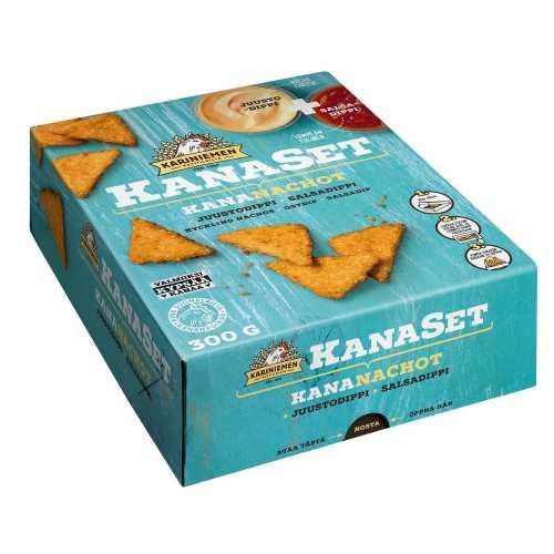 Kariniemen Kanaset<sup>®</sup>  Kananachot 300g
